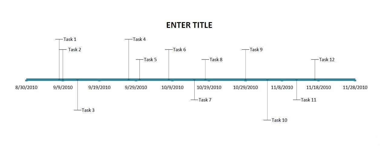 free excel timeline template dowload